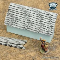 Card board shingles old...